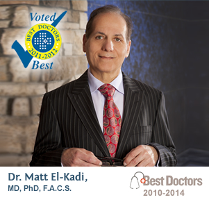 Dr. Matt El-Kadi, MD, PhD, F.A.C.S. - Voted Best Doctors 2011-2012