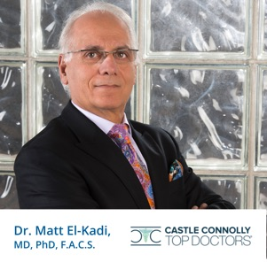 Dr. Matt El-Kadi, MD, PhD, F.A.C.S. - Voted Best Doctors 2011-2012